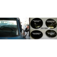 1961 - 1971 Dodge Truck Reproduction ROUND Mirror (EA)